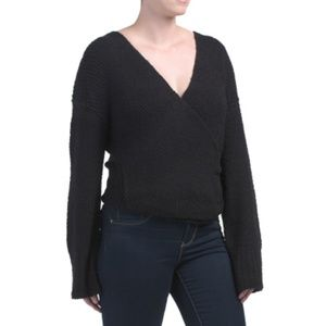 FREE PEOPLE Wrap Style Sweater